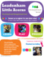 Preschool spaces 2020 - Made with Poster
