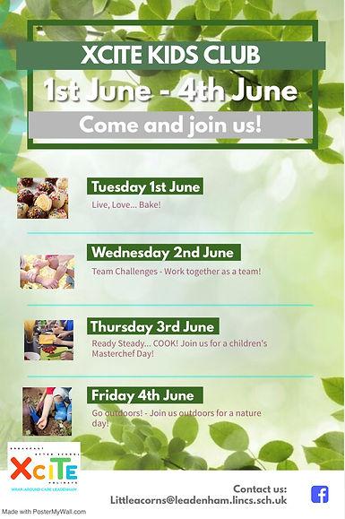 XCITE Leadenham Holiday Club June 2021.j