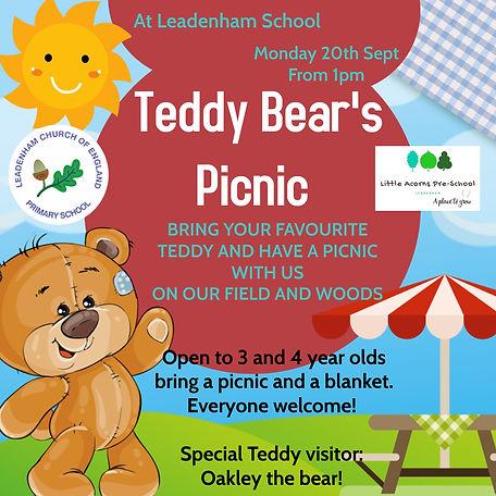 Teddy bears picnic Leadenham CE Primary School.jpg
