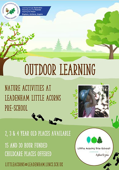 Leadenham Little Acorns Outdoor Learning