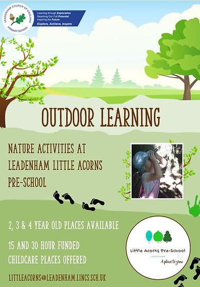 Leadenham Little Acorns Outdoor Learning
