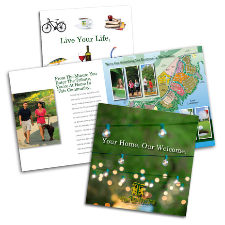 Relocation Brochure, which eventually transferred to digital marketing and online communications.