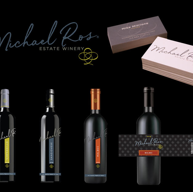 Michael Ros Winery - Brand & Package Design