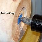 Ball bearing live center