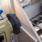 The wood lathe as a very large hole cutter