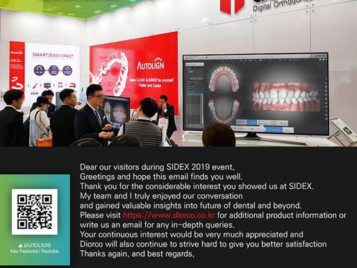 Thank you all for visiting us at SIDEX 2019