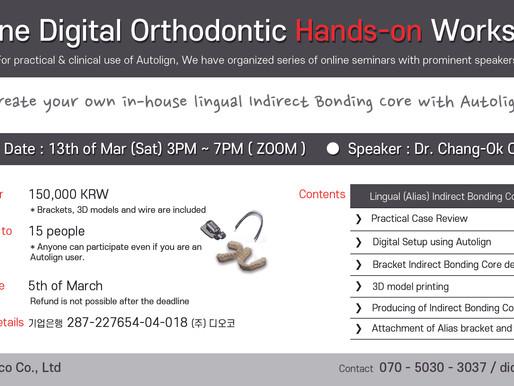 Online Digital Orthodontic Hands-on Workshop