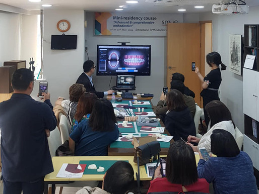Hands-on training of Autolign at Smilezone Dental Clinic