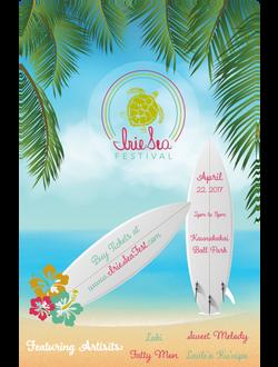 Irie Sea Festival Poster