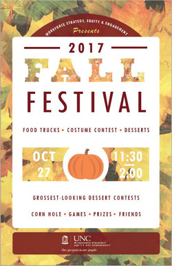 UNC WSEE Fall Fest 2017 Poster 1