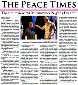 The Peace Times Vol. 15, Issue 7