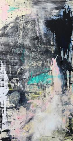 11. Untitled, mixed technique, 90 x 150 cm, 2015