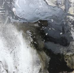 3. Born - oil on canvas, 100 x100 cm, 2014