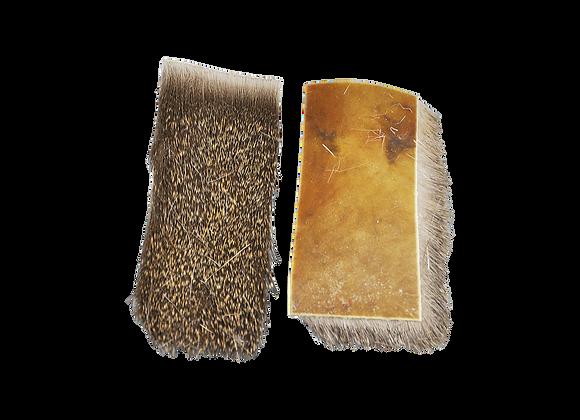 10 Stück  Deer Fur Skin