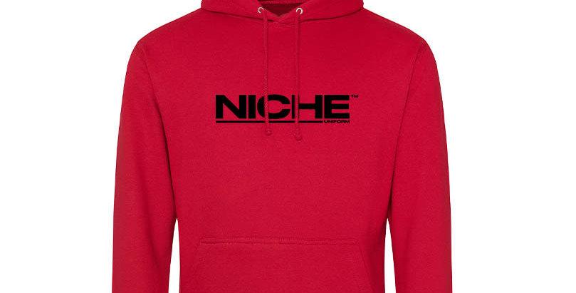 NICHE RED HOODIE