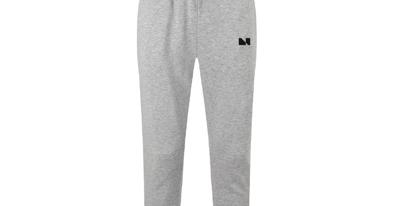 FITTED UNIFORM GREY JOGGERS