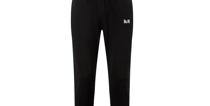 FITTED  UNIFORM BLACK JOGGERS