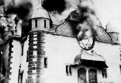 שריפת בית הכנסת בדרזדן