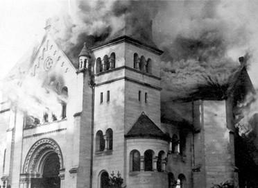 שחזור בית הכנסת השרוף בדרזדן