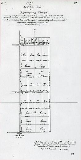 Thomas Wardall's Orange Grove Tract
