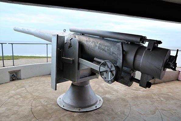 Blyth Battery - Naval Gun Replica Reveal - April 2019