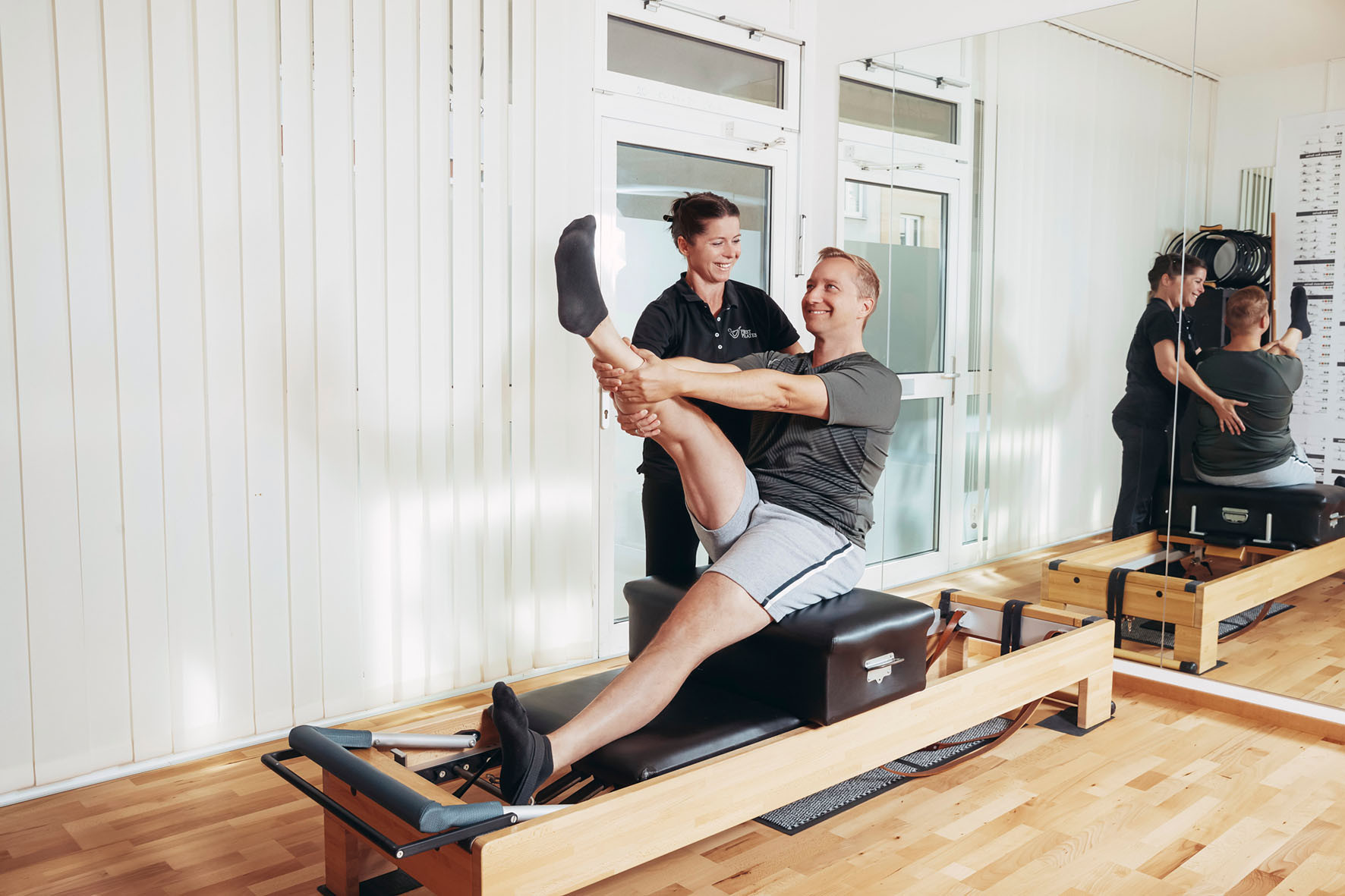 Pilates Fotoshooting