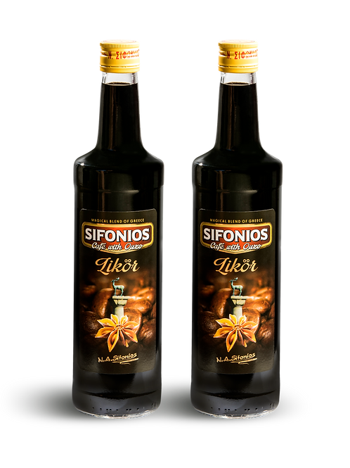 SIFONIOS Café with Ouzo 21% Vol.