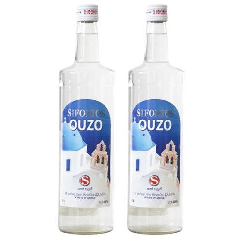 SIFONIOS Ouzo 40% Vol. Duo