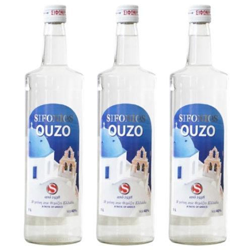 SIFONIOS Ouzo 40% Vol. Trio