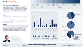June update - Growth portfolio