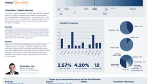 July update - Growth portfolio