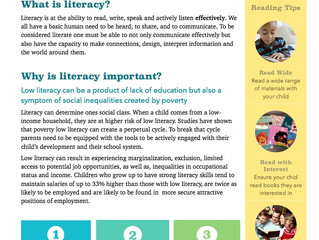 Family Literacy Tips and Activities