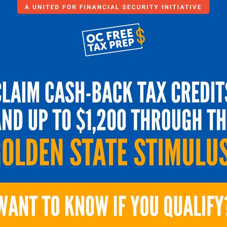 Claim Golden State Stimulus