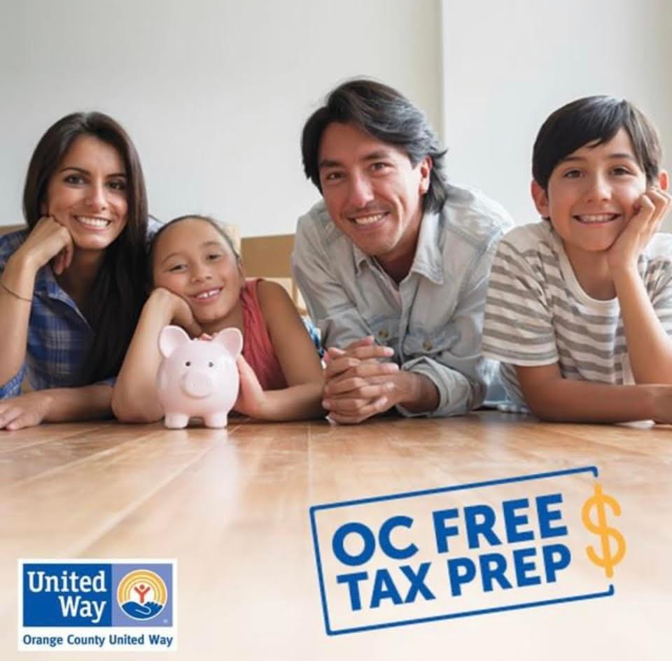 OC Free Tax Prep, Orange County United Way