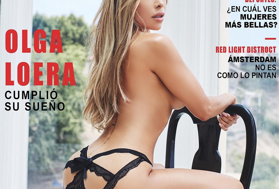 Olga Loera Playboy Cover