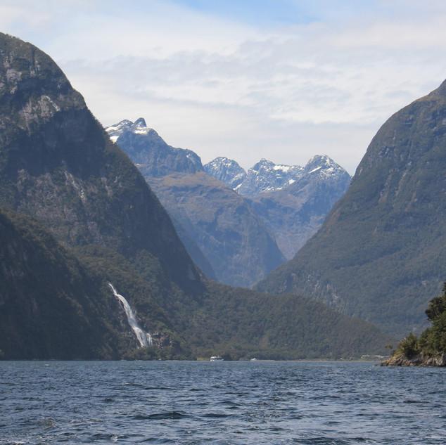 A Mountanious Waterfall