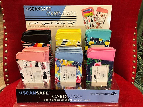Scansafe Card Cases