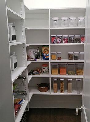 Pantry custom storage
