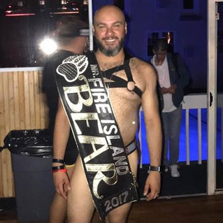 Mr. Fire Island Bear 2017 Dan Jimenez