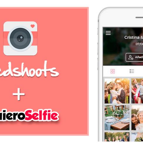 Ahora con #QuieroSelfie podés imprimir las fotos de tu album WedShoots, la app de casamientos.com.ar