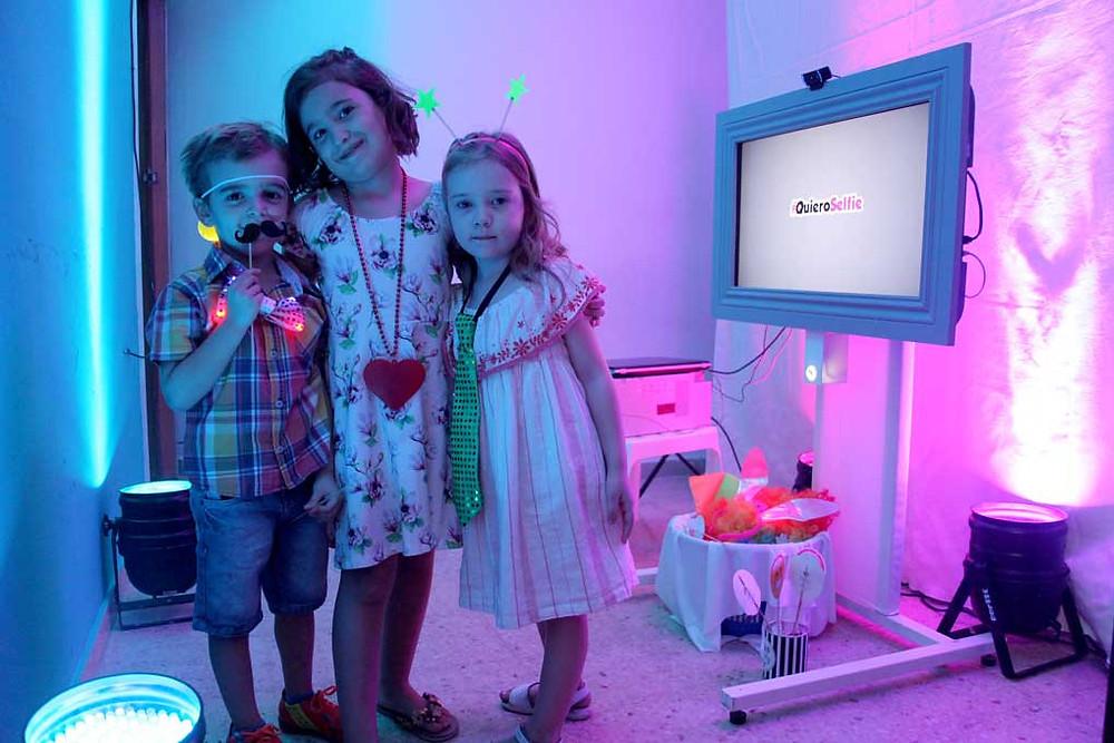 cabina fotografica infantil