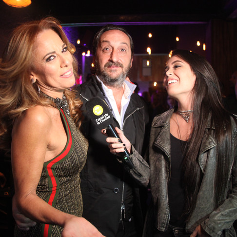 #QuieroSelfie en el cumpleaños de 50 de Antonello, el novio de Iliana Calabró