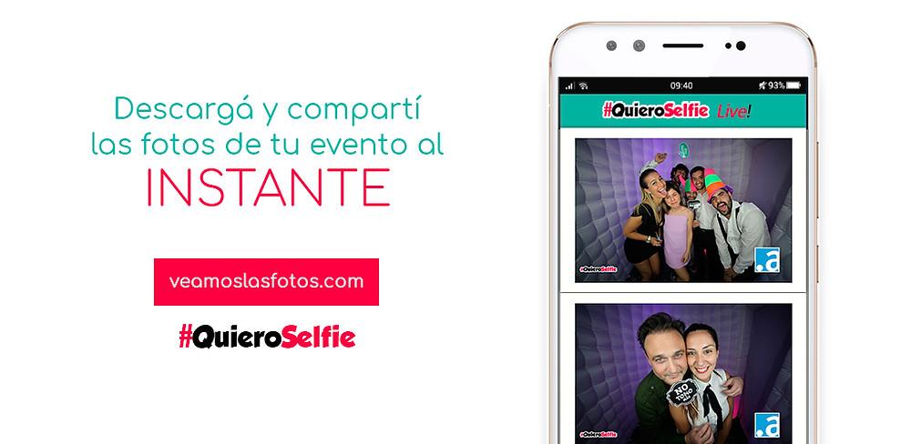 quieroselfie live app descargas en vivo