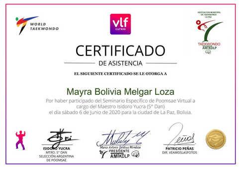 Mayra Bolivia Melgar Loza