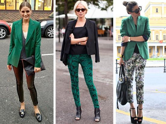 verde en moda