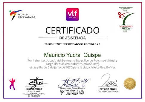 Mauricio Yucra  Quispe