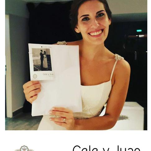 del Instagram al Papel #BodaCeleyJuan