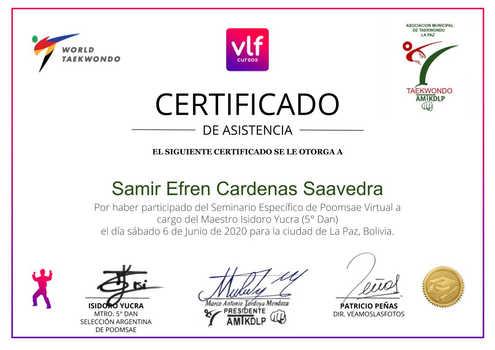 Samir Efren Cardenas Saavedra