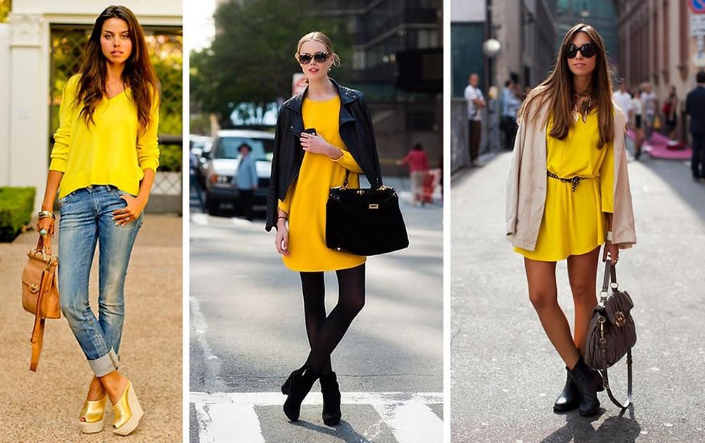 moda amarillo