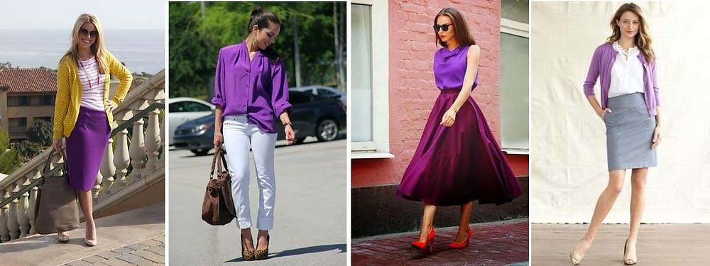 moda violeta